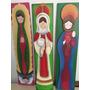 Hermosas Virgenes Grandes Surtidas Artesania Venezolana