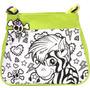 Color De Los Niños En El Bolso - Wild Republic Green Zebra