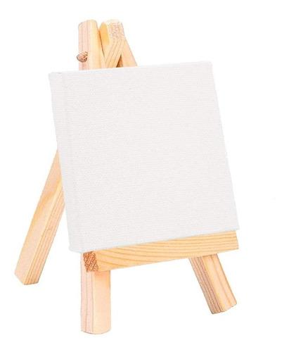 artesanías de madera mini caballete pintura al óleo lienzo b