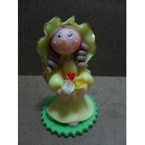 Virgen De La Rosa Mistica - Masa Flexible- Recuerdo (unidad)