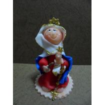 Virgen De La Chinita - Masa Flexible- Recuerdo (unidad)