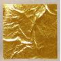 Papel Hojilla De Oro (pan De Oro) Paquete De 100 Laminillas