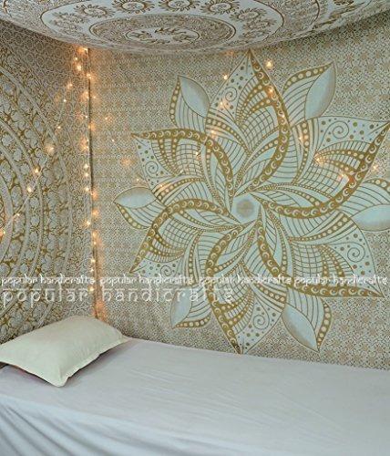 artesanías populares kp649 gran luna ombre oro tapicería ma