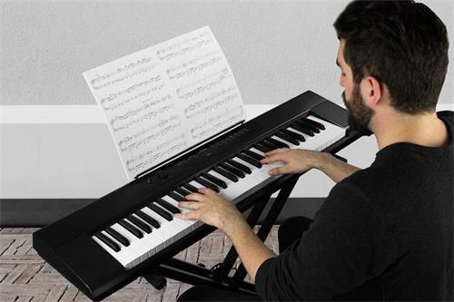 artesia piano electrico 61 teclas semi pesadas - usb midi
