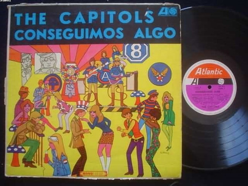 artesonido: the capitols lp conseguimos algo argentina disco