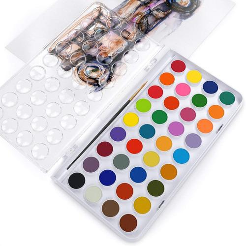 arteza acuarela niños pintar, conjunto de 36 vibrantes paste
