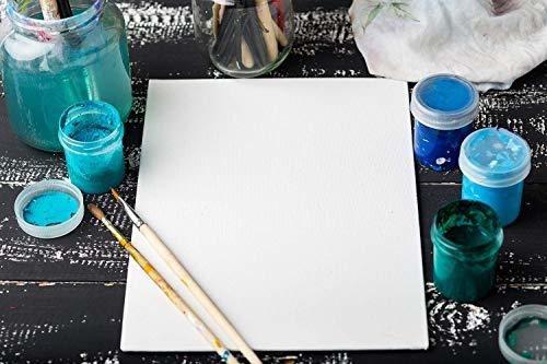 arteza paneles de lienzo para pintar 12 x 12 14 unidades col