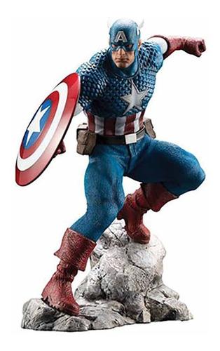 artfx premier captain america estatua marvel kotobukiya