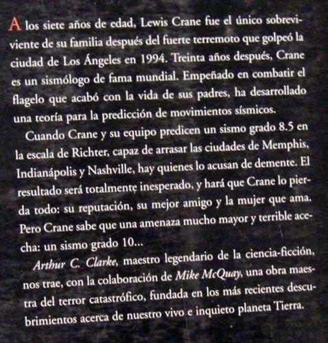 arthur c clarke mike mcquay sismo grado 10 literatura