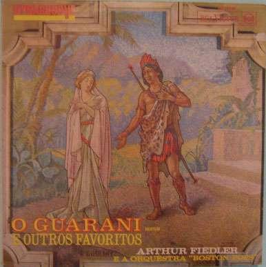arthur fiedler e a orquestra boston pops -  o guarani