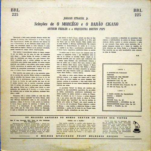 arthur fiedler orquestra boston pops lp o morcego 11256