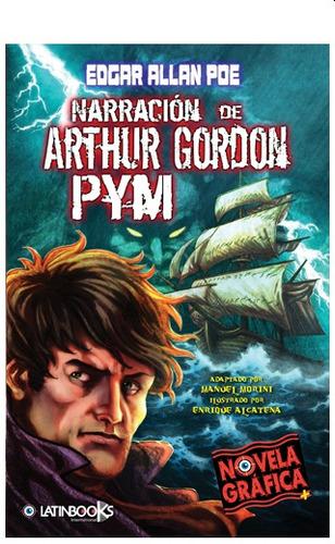 arthur gordon pym novela gráfica / poe (envíos)