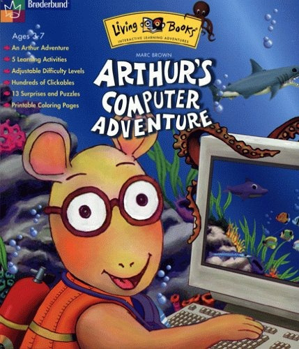 arthurs computer aventura siglos 3-7 [ versión ]