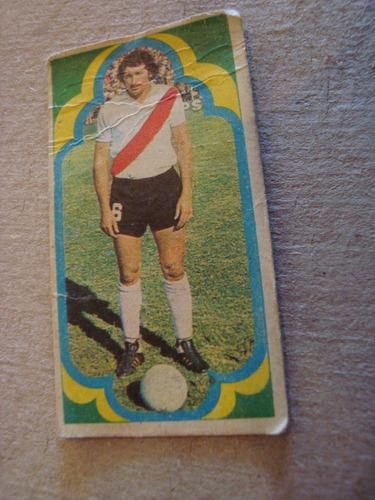 artico 21 river figurita album estampa jugador 1975