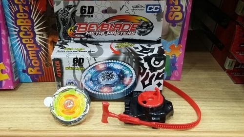 articulo 220456 bey blade trompo con luz en caja