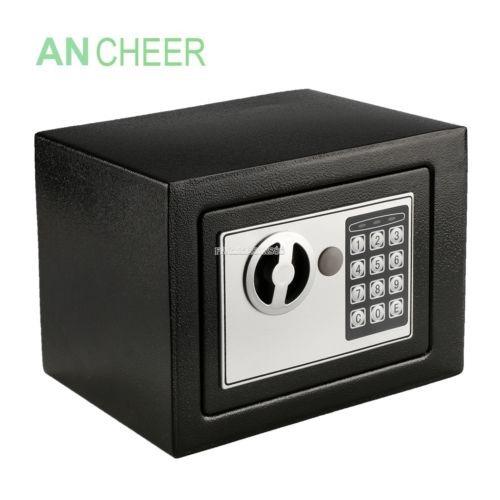 artículo electrónico seguro caja teclado cerradura hogar