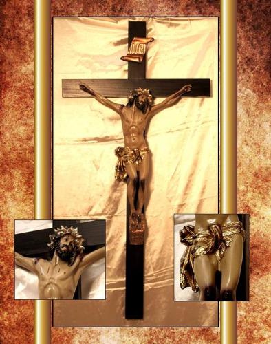 articulo religioso e imagenes cristo de 1.30cm. (agonia)