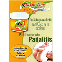 Crema Derm Zinc Antipanalitis X 100 Gr