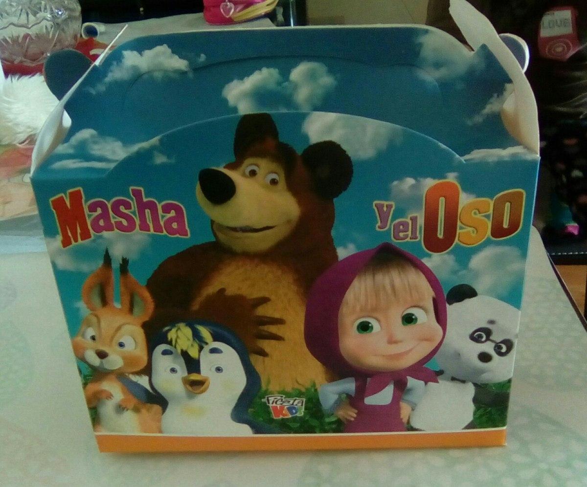 Articulos de cumplea os de masha y el oso en - Accesorios de cumpleanos infantiles ...