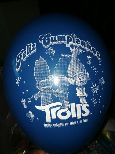 artículos de cumpleaños trolls