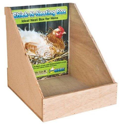 artículos de fabricación caja de anidación del pollo
