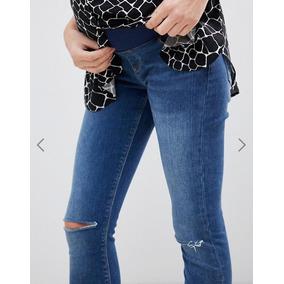 845aa5e4a7 Jeans Maternidad Para Mujer Dama Embarazada Marca Asos