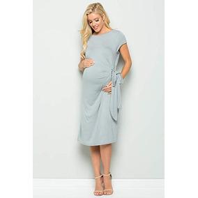 68e88546c Vestido De Embarazada Maternidad De Fiesta Talla L My Bump