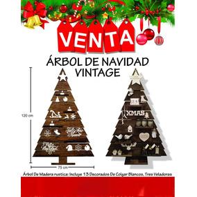 141832057f57e Arbol De Navidad De Madera Vintage en Mercado Libre Colombia