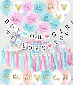Artículos Para La Fiesta De Revelación De Género Ballons Az