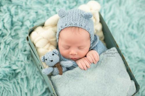 articulos para sesion de fotos gorritos bebe recien nacidos
