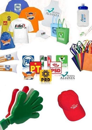 110944ef4c38 Artículos Promocionales Para Campañas Políticas Y Publicidad ...