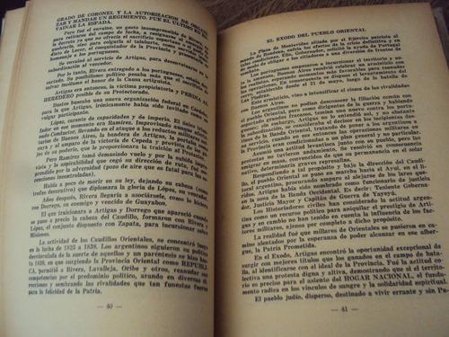 artigas ciudadano del plata miguel paez formoso 1952