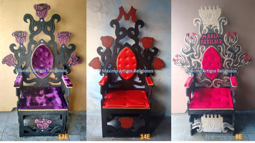 artigos religiosos, umbanda, candomblé trono de pombagira