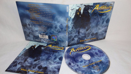 artillery - when death comes (digipack metalmind )
