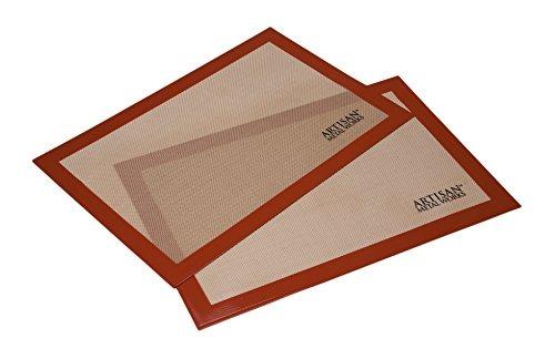 2 Pack Artisan Non-Stick Silicone Baking Mat