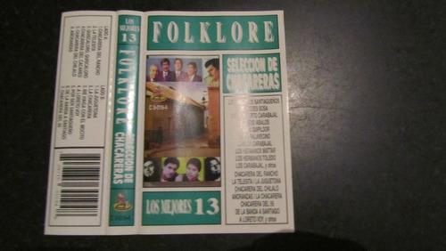 artistas varios - folclore,seleccion de chacareras cassette