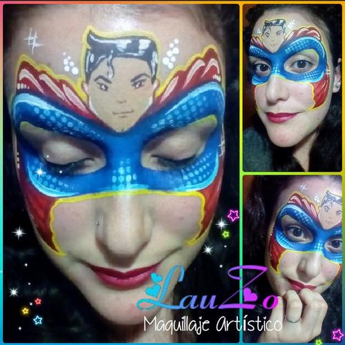 artístico infantil maquillaje