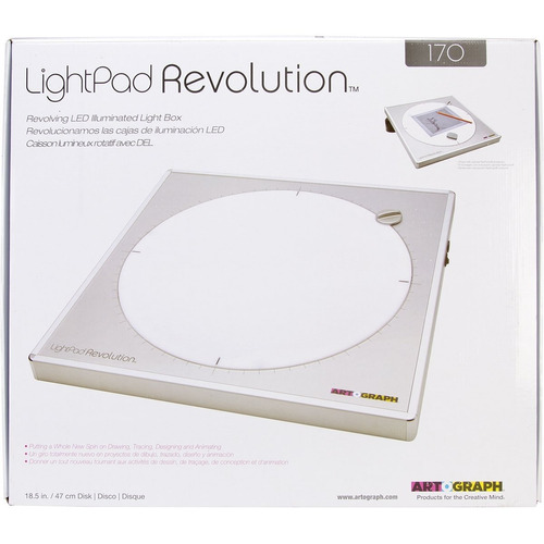 artograph light pad revolution 170 giratorio artistas