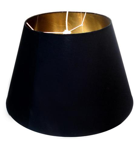 (artquadros) linda luminária em tecido negro