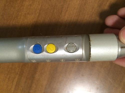 artroscopia stryker tps pieza de mano 12 k