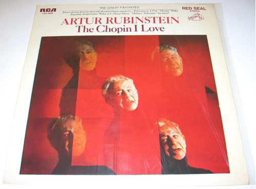 artur rubinstein the chopin i love vinilo lp arg impecable