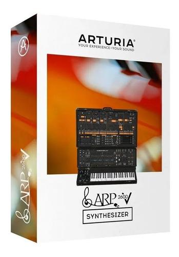 arturia arp 2600 v software original licencia oficial