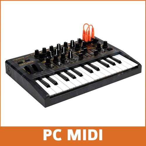 arturia microbrute creation sintetizador analogico + fuente