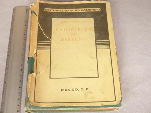 arturo puente y f., principios de derecho, editorial banca