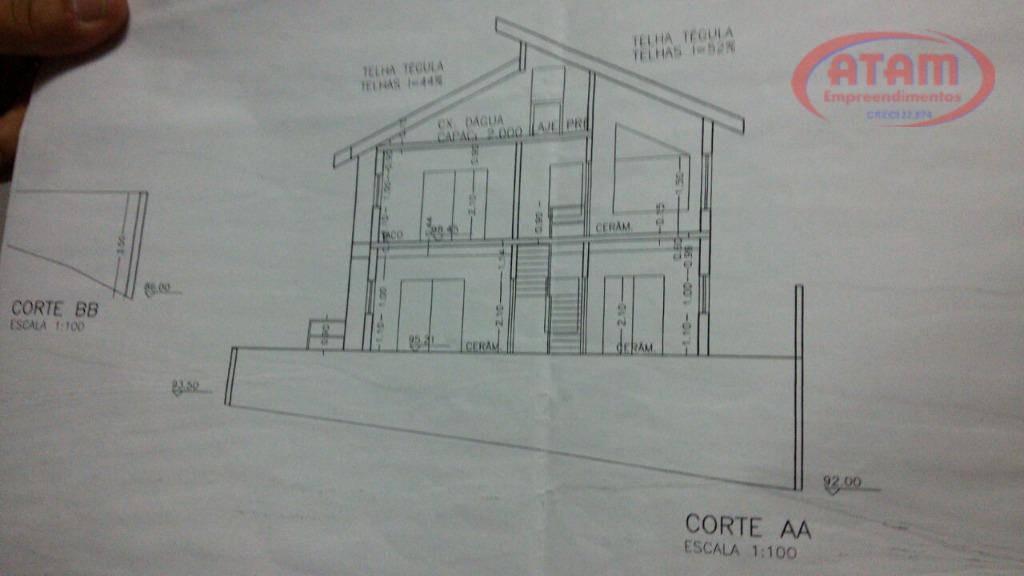 arujá-condomínio hills 3 - terreno com 515m2 - te0095