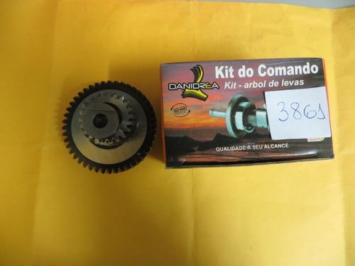 arvore comando fan 125 (05-08) c/ engrenagem danidrea 03861