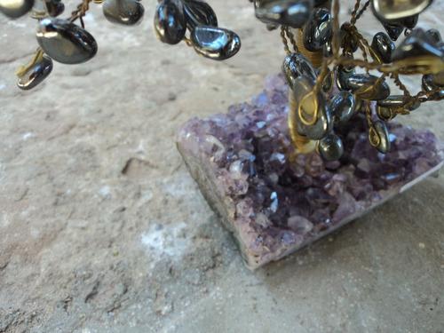 árvore de pedra (artesanal)