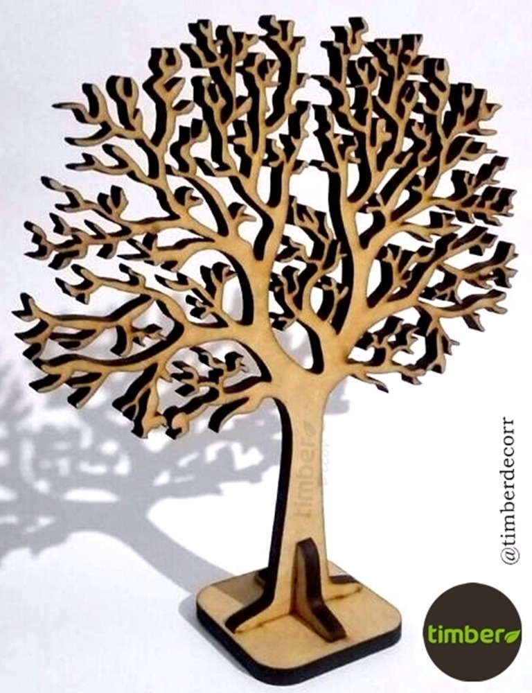 2824a87aa Árvore Decorativa Em Mdf - Árvore Da Vida Em Mdf - Decoração - R  21 ...
