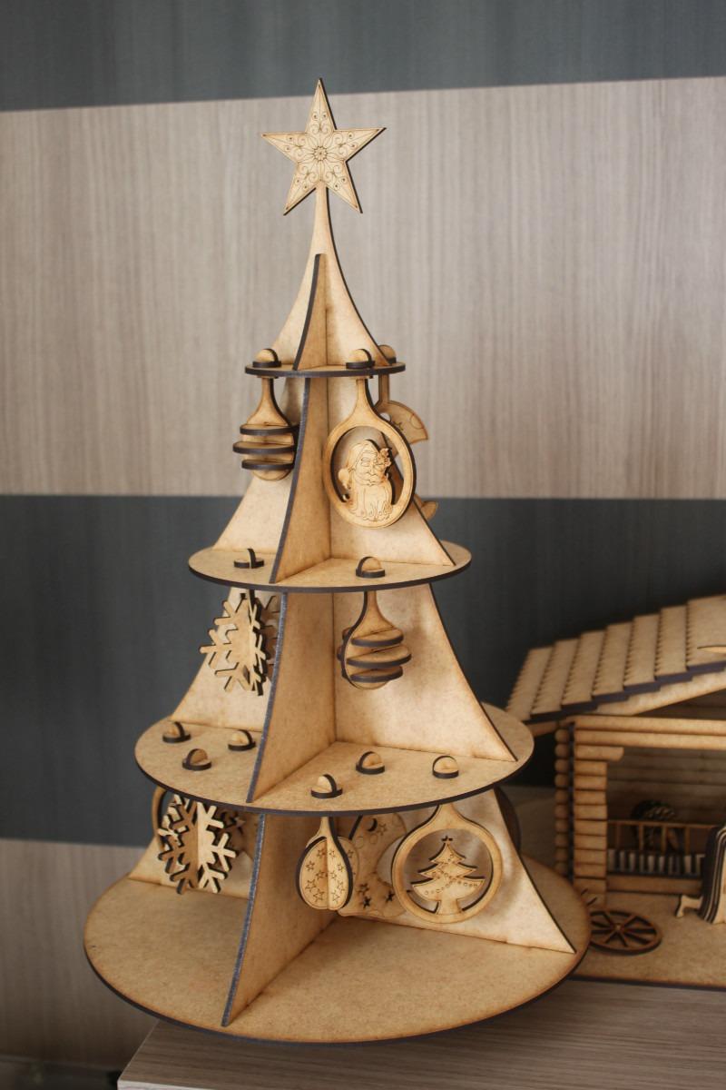 árvore Natal 20 Enfeites Compre Uma Leve Duas