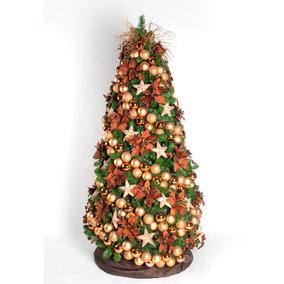 b7bb85272 Árvore Decorada Cobre Com 2